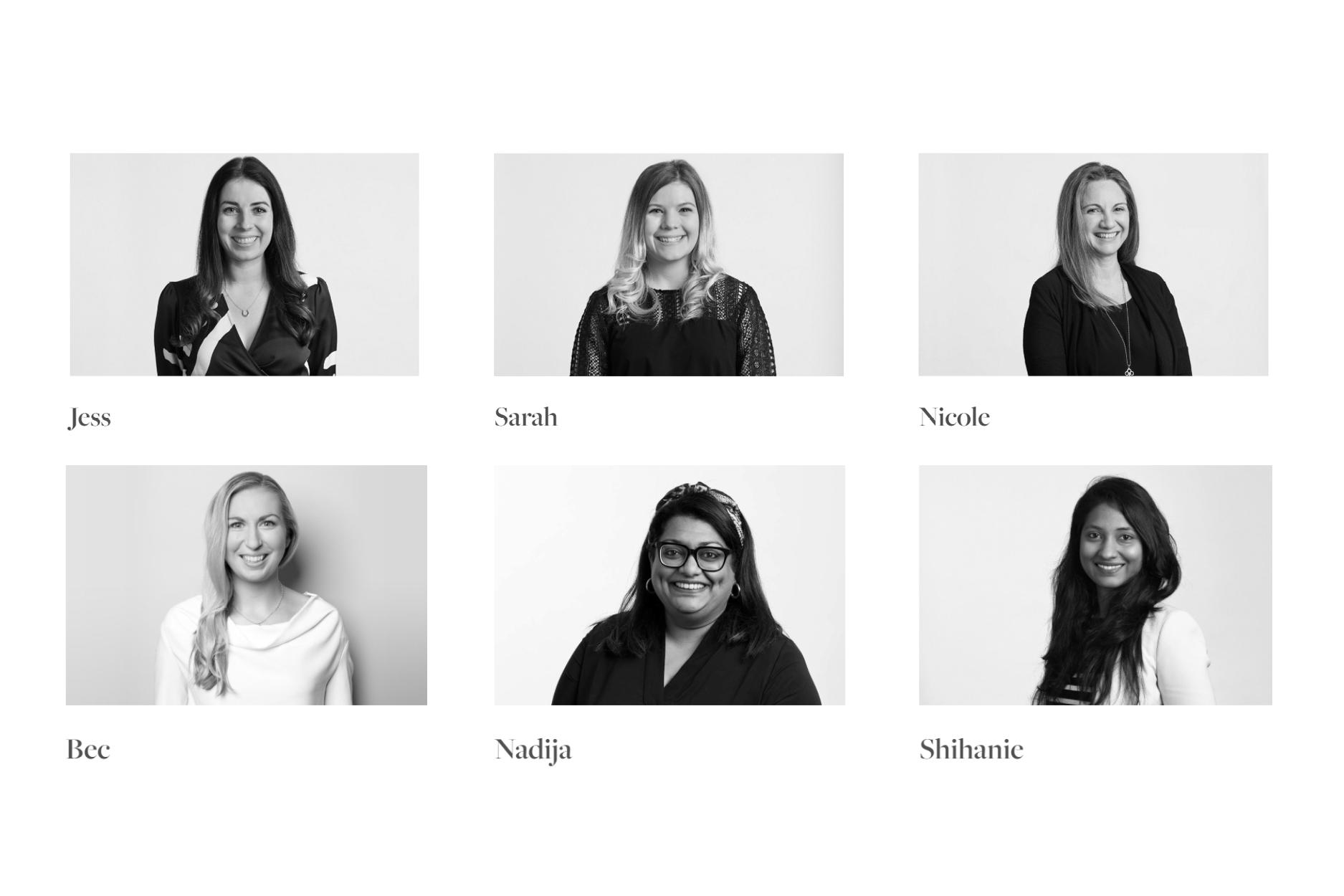 Our expert team of Interior Designers Boutique Homes